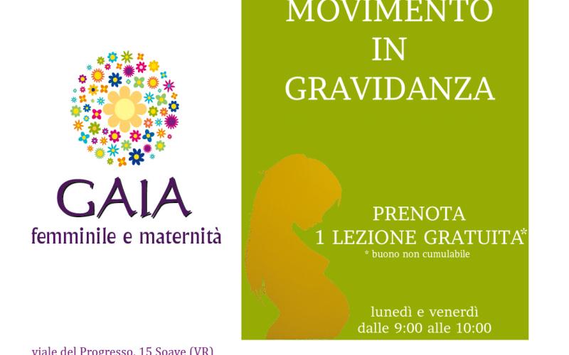 Movimento in gravidanza: prenota la tua lezione gratuita!