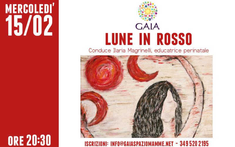 """Scopri e conosci il tuo ciclo mestruale con """"Lune in Rosso"""". 15 febbraio 2017"""