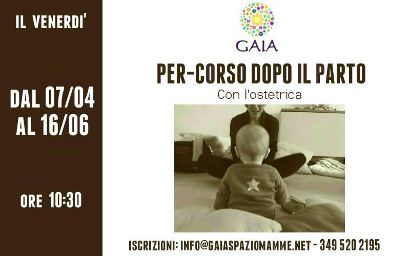 Il 7 Aprile 2017 inizia il nuovo Per-corso dopo il parto. Partecipa con il tuo bambino!