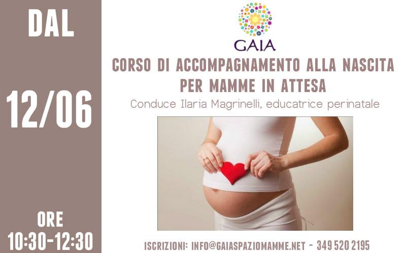 MAMME IN ATTESA! Il 12 Giugno inizia un nuovo Corso di Accompagnamento alla Nascita al MATTINO