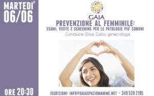prevenzione femminile elisa caloi ginecologa