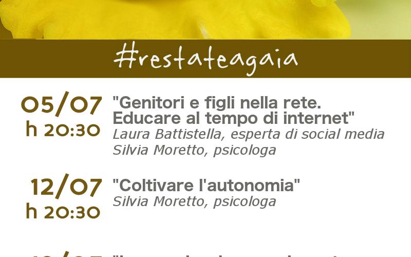 #rEstateagaia: 4 incontri con 4 esperte. Per tutte le donne!