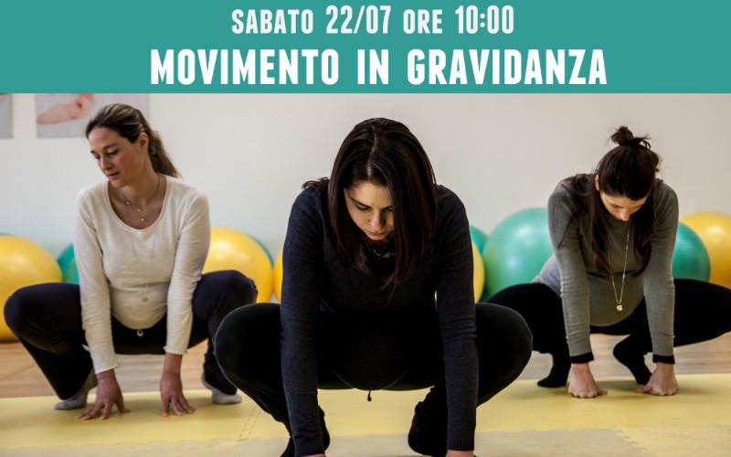Vieni a provare Movimento in Gravidanza! Sabato 22 luglio 2017