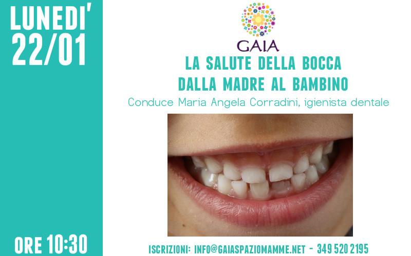 La salute della bocca dalla madre al bambino. 22 gennaio 2018 GRATUITO!