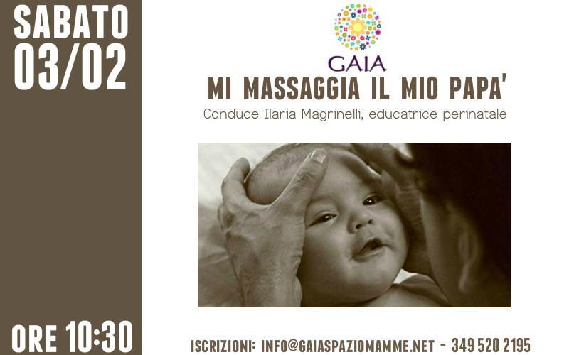 """A gran richiesta, torna """"Mi massaggia il mio papà""""! 3 febbraio 2018"""