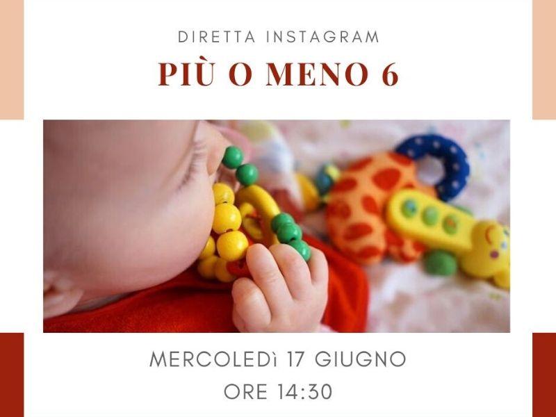 diretta instagram i sei mesi del bambino lattante